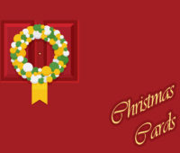 Christmas Cards Powerpoint Backgrounds