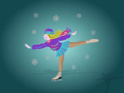 Ice Skating Powerpoint Templates