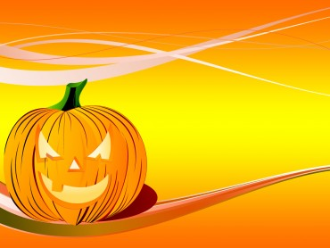 Pumpkin Backgrounds for Powerpoint