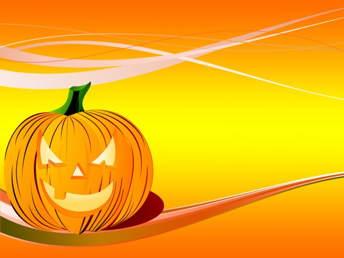 Pumpkin Backgrounds for Powerpoint PPT Backgrounds
