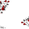 Red Rose Flower Powerpoint Template