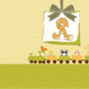 Sweet Baby Feed PPT Backgrounds