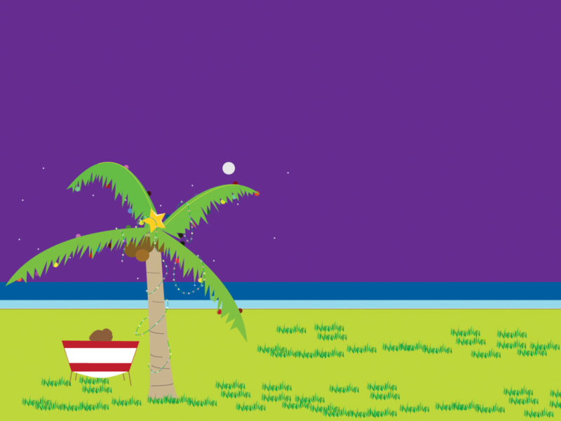 Tropical Ocean PPT Backgrounds