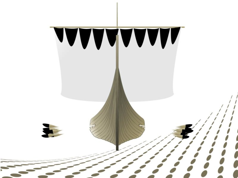 Viking Longship Powerpoint Template