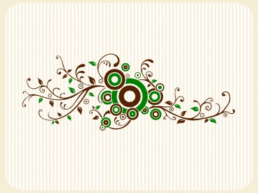 Wall Floral Tattoo