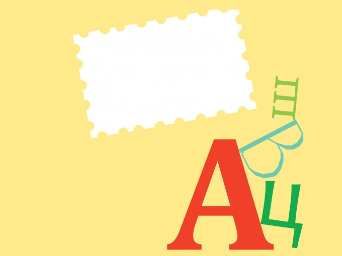 ABC Children Cards Template PPT Backgrounds