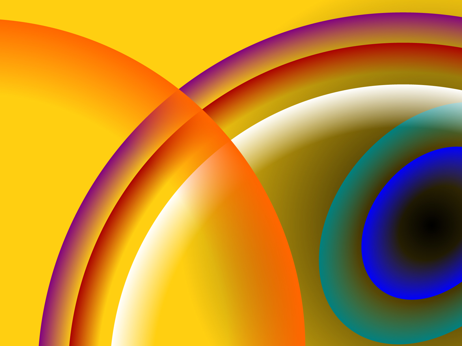 Abstract Circles Powerpoint Backgrounds