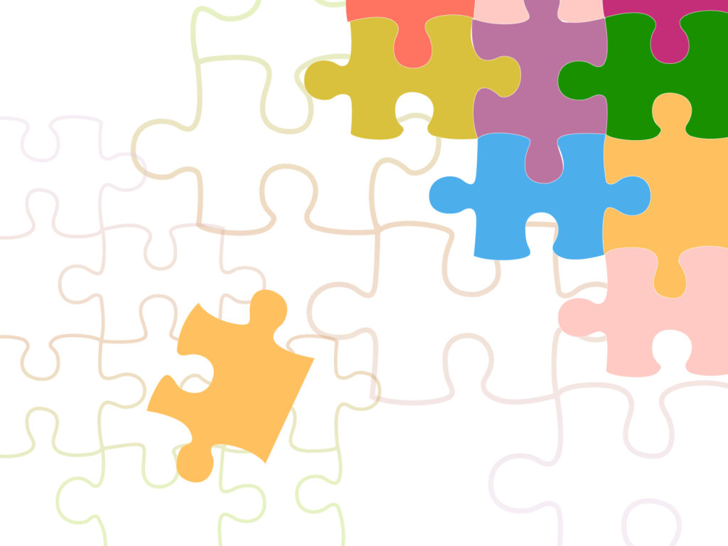 Medium Size Preview 1024x768px Business Puzzle Backgrounds