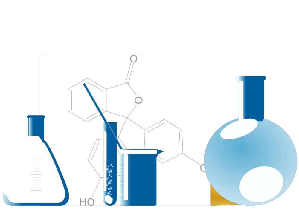 Chemistry Instruments Molecule Backgrounds - Blue, Medical, White ...