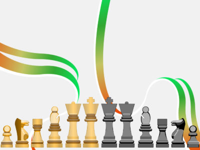 Chessfigures for Game PPT Backgrounds