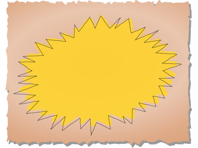 Comic Sound Effect Border Backgrounds