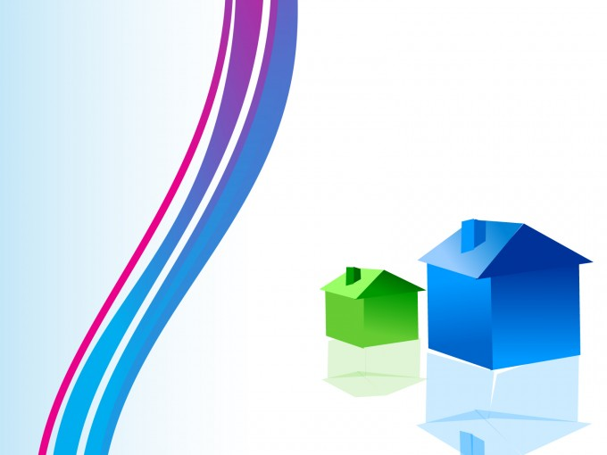 Home, Office, Land Realty Estate PPT Backgrounds
