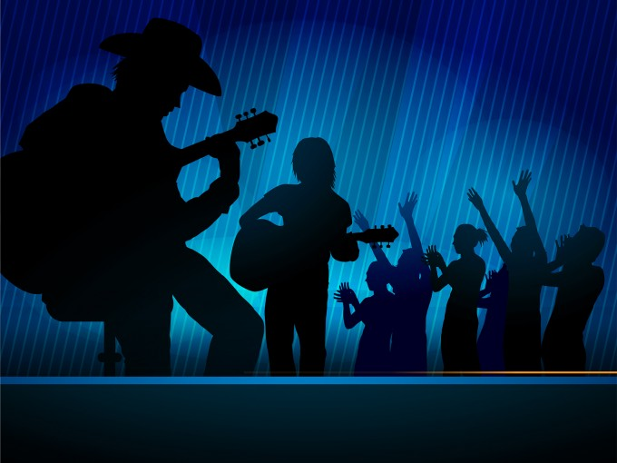 Music Concert Powerpoint Slides PPT Backgrounds