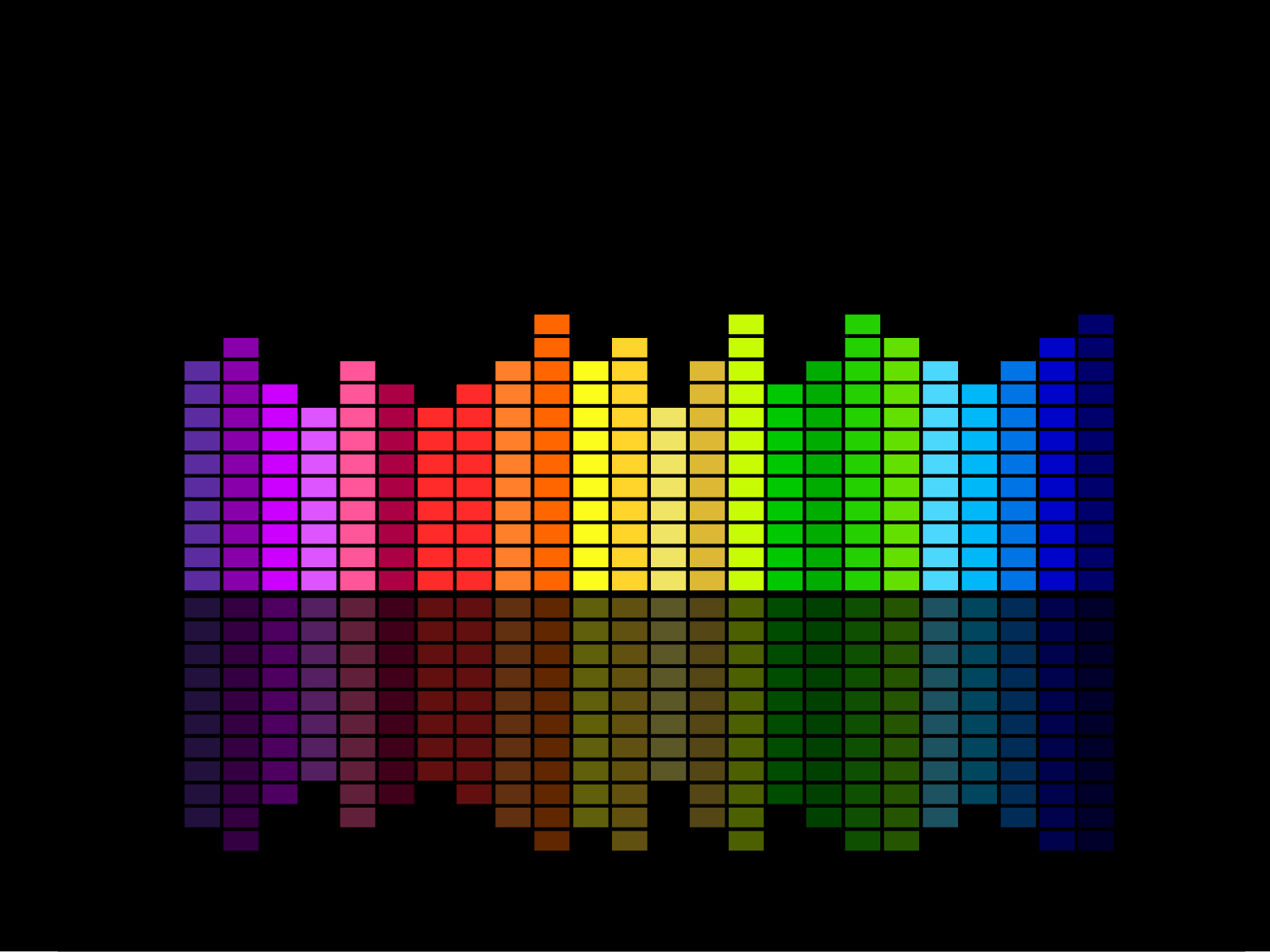 Music Equalizer Ppt Backgrounds Black Music Templates