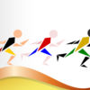 Olympics Men of All Nationalities Backgrounds PPT
