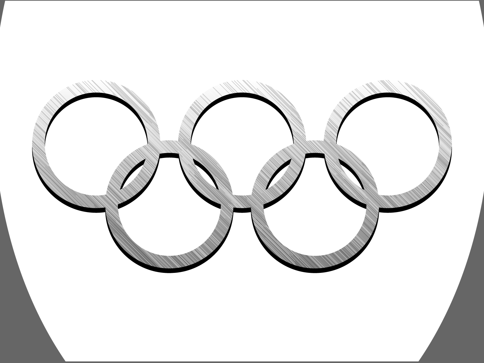 black and white olympic rings template pictures to pin on