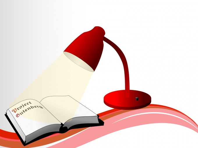 Study Book and Lights Templates PPT Backgrounds