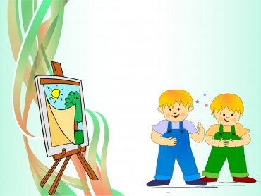Sweet Kids Paint Design
