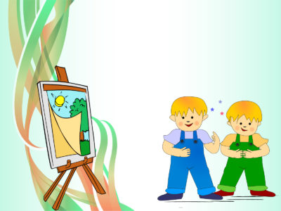 Sweet Kids Paint Design Backgrounds