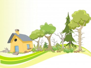 Vineyards, Orchards and Wooden House