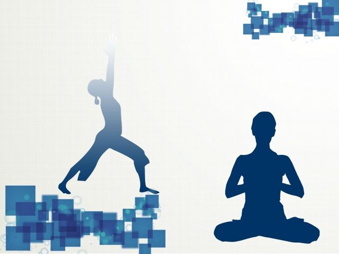 Yoga Sport PPT Backgrounds