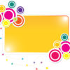 Colorful Label Frame Powerpoint Backgrounds