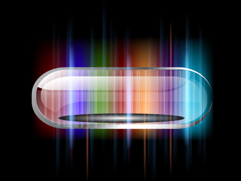 Colorful ellipse with stripes ppt backgrounds