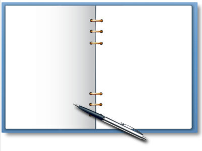 Daily Notebook and Pen Backgrounds