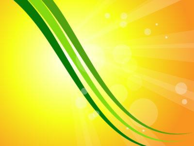 Green Glitter Design PPT Templates