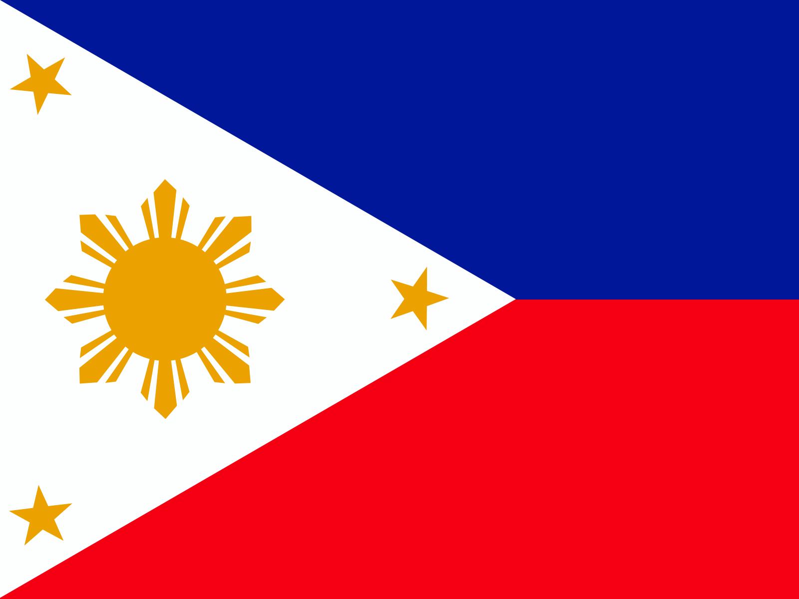 Philippines flag backgrounds blue flag red white templates philippines flag powerpoint templates toneelgroepblik Images