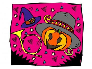 Pink Halloween Powerpoint Template