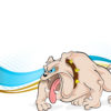 Angry Bulldog Animal PPT Backgrounds