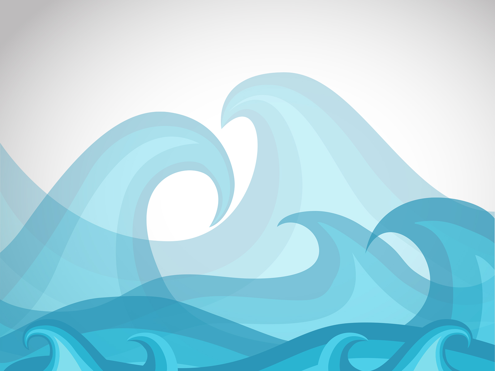 Blue Waves Powered Templates