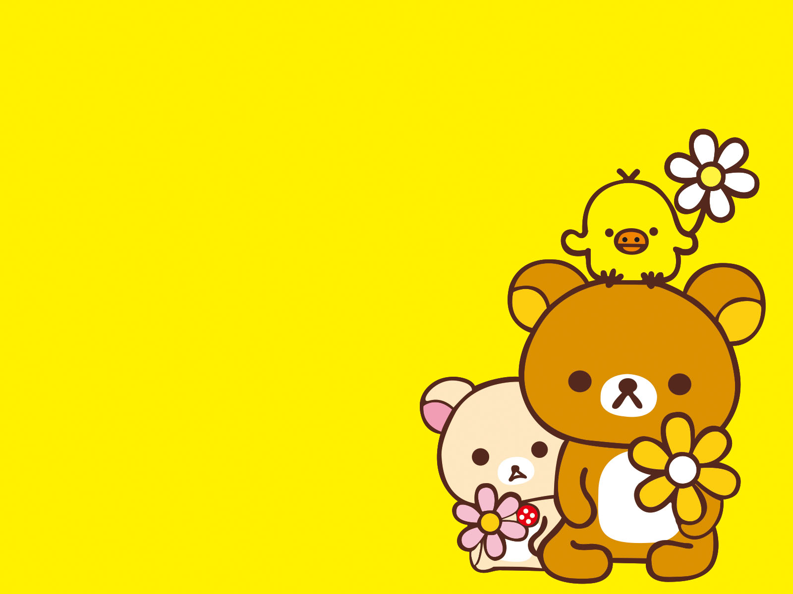 easily bear animal backgrounds animals cartoon yellow