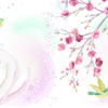 Hand Painted Spring Floral Birds PPT Backgrounds