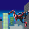 Marvel Spiderman Hero PPT Backgrounds