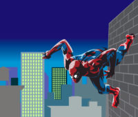 Marvel Spiderman Hero PPT Backgrounds