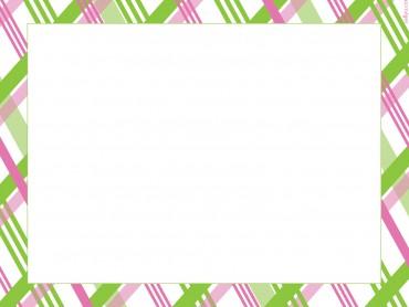 Pink Green Plaid Striped