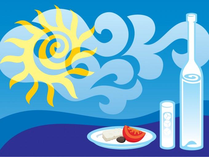 Dining Cartoon Design PPT Backgrounds