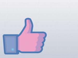 Facebook Like PPT Backgrounds