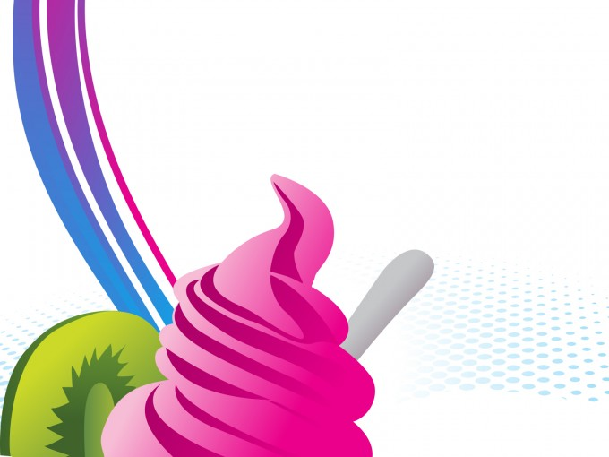 Sweet Ice Cream PPT Backgrounds