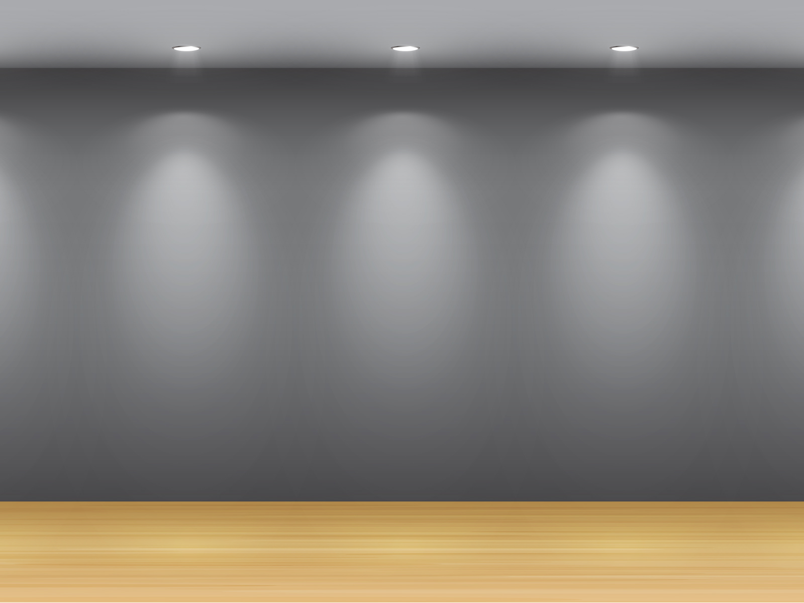 Black Silver Display Powerpoint Backgrounds