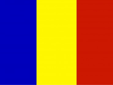 Flags of Romania Country