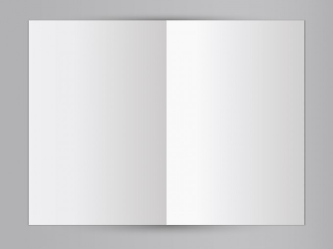 Free Blank Mock-up Book PPT Backgrounds