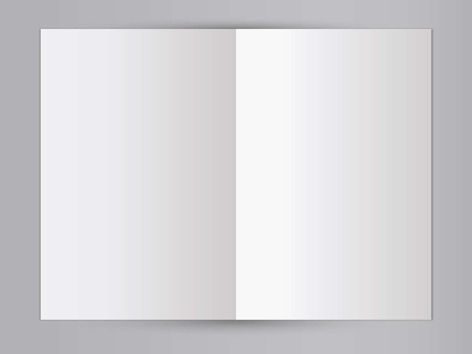 Free Blank Mock-up Book Backgrounds