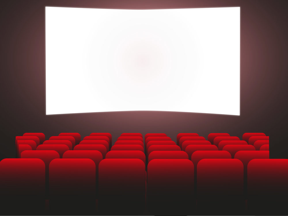 Movie Theater Backgrounds Black amp TV Red
