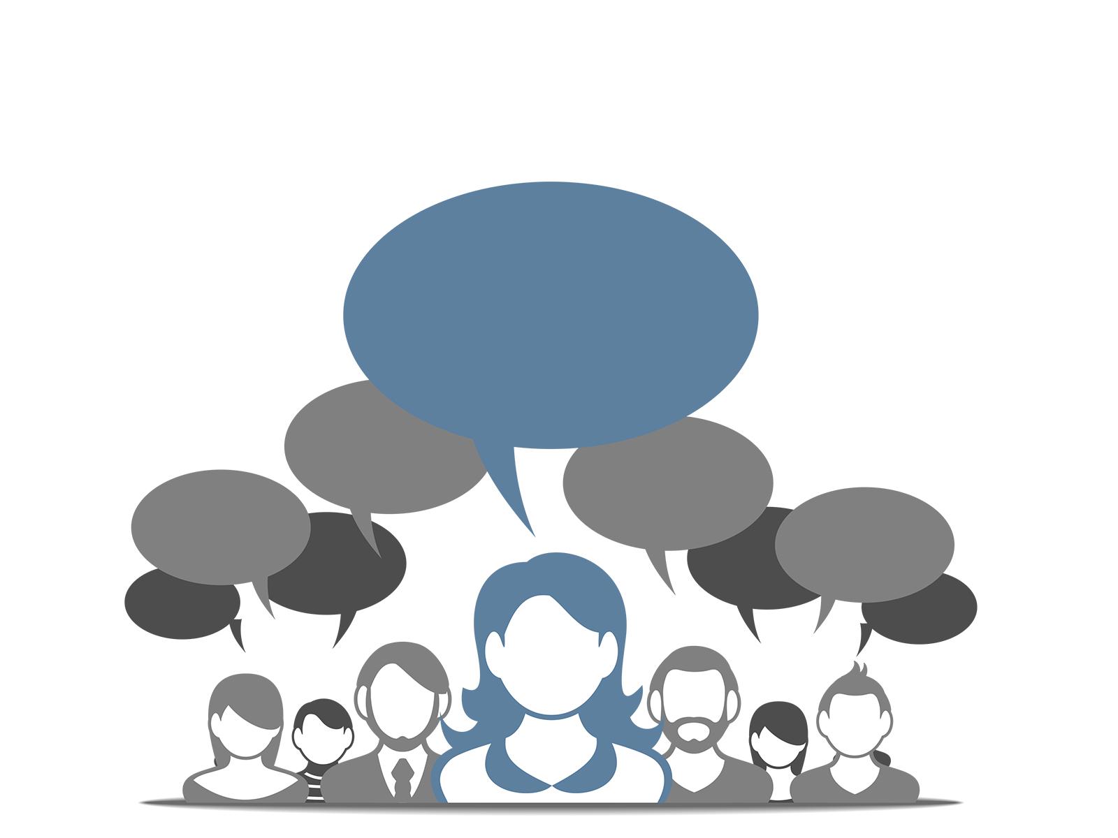 Social Media Commincation PPT Backgrounds