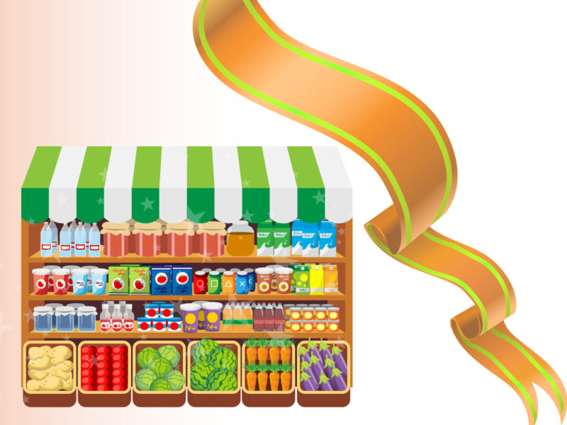 Food Market Powerpoint Backgrounds