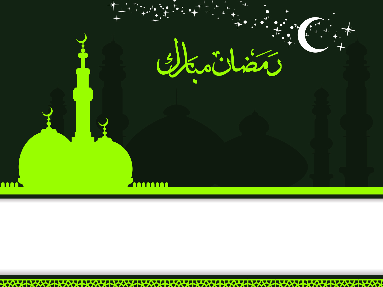 Islamic ramadan kareem backgrounds black green religious white islamic ramadan kareem powerpoint themes toneelgroepblik