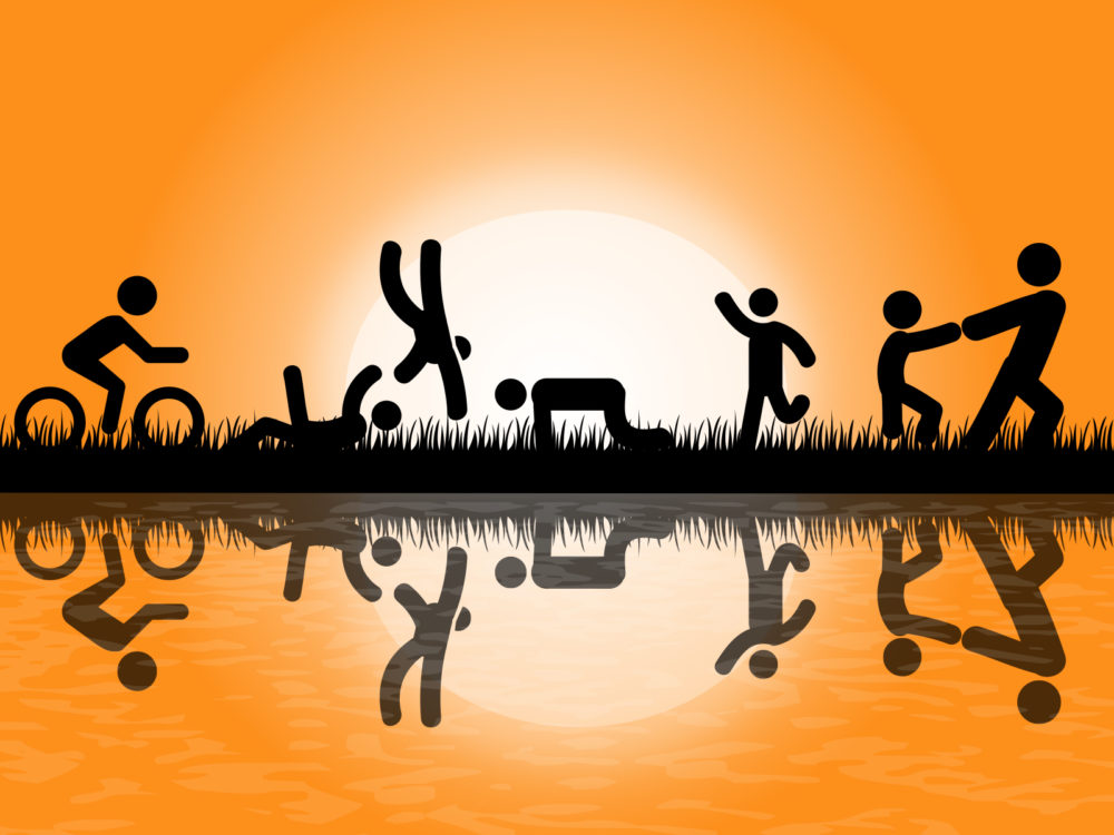 People exercise in park ppt backgrounds black cartoon games normal resolution toneelgroepblik